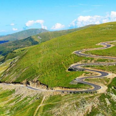 The Transalpina Road